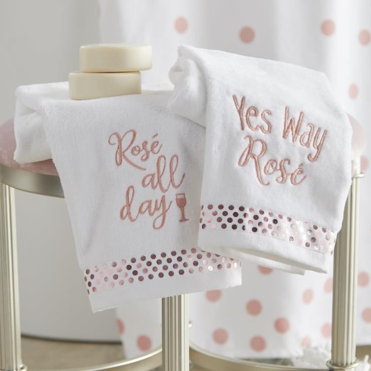 Picture of Rose All Day 2-Piece Hand Towel Set