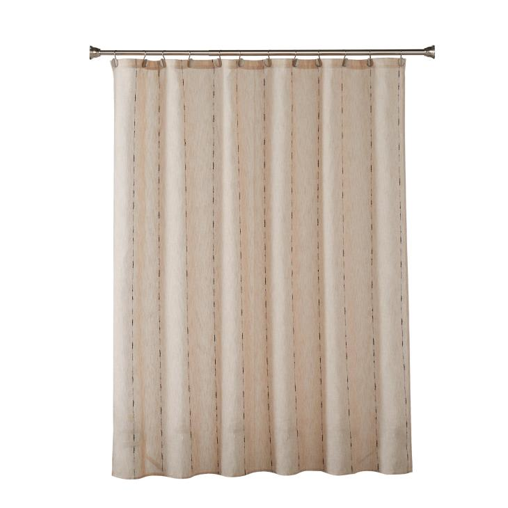 Picture of Linen Space Dye Fabric Shower Curtain