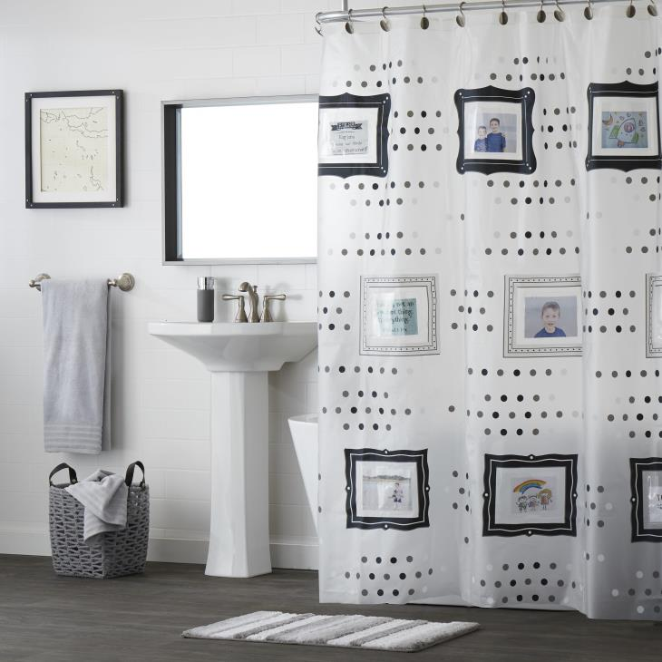 Picture of Pocketz Vinyl Shower Curtain