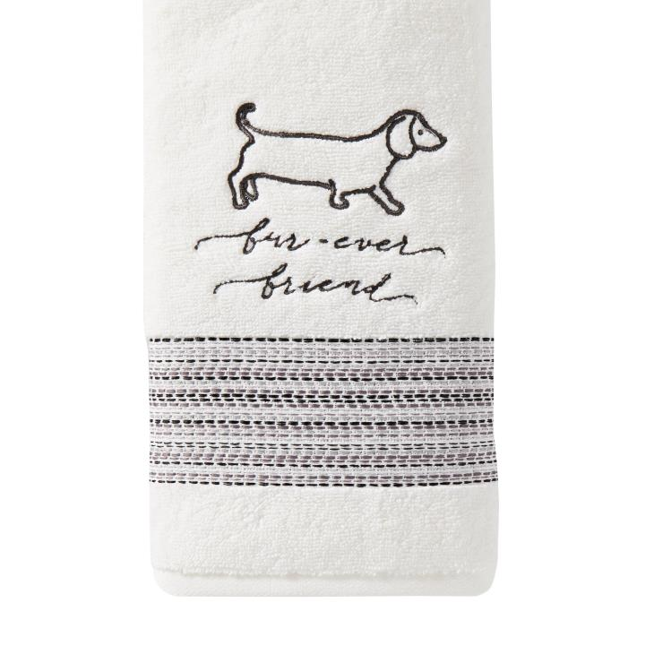 Picture of Fur Ever Friends 2-Piece Hand Towel Set