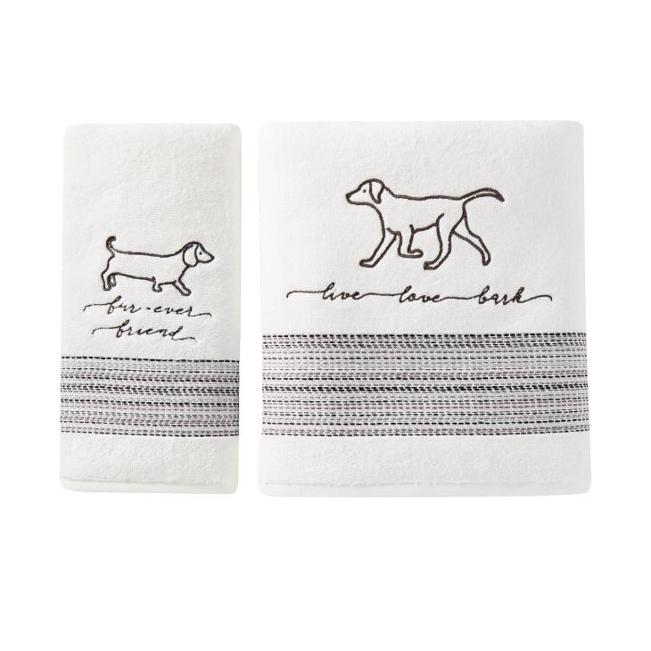 Picture of Fur Ever Friends Bath Towel