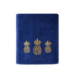 Image of Gilded Pineapple Bath Towel