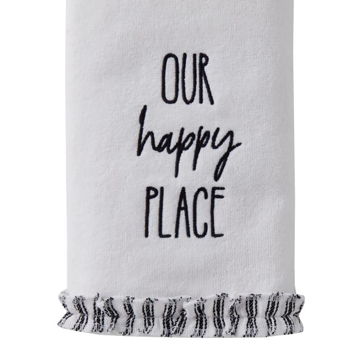 Picture of Our Happy Place 2-Piece Hand Towel Set