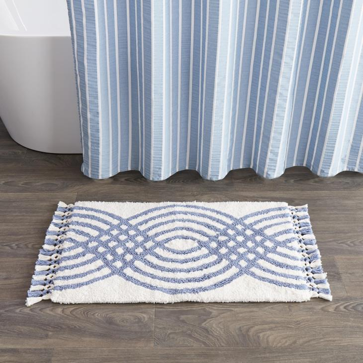 Picture of Fringed Waves Rug