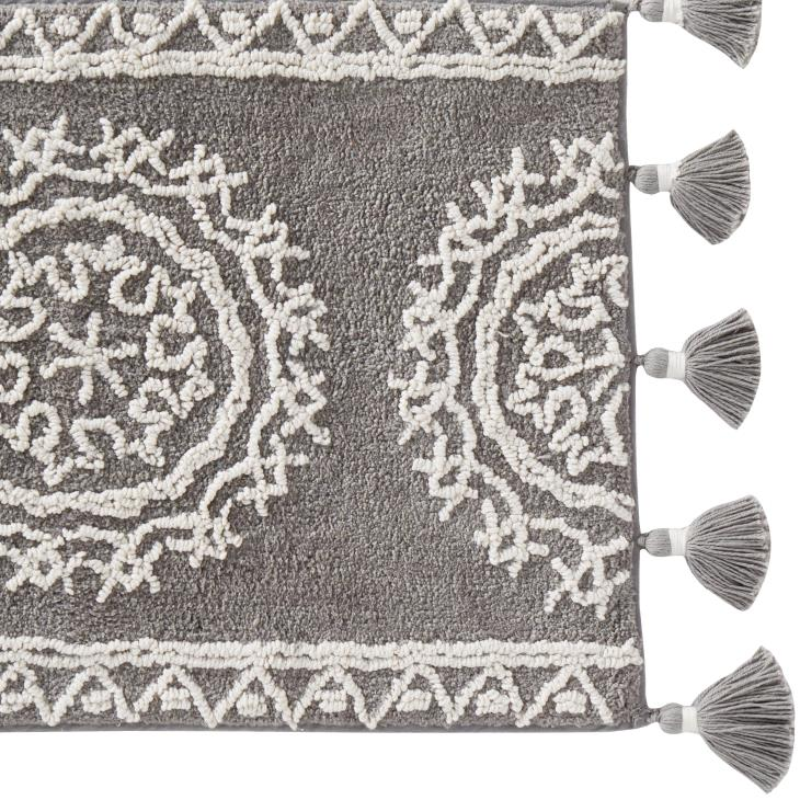 Picture of Medallia Small Rug with Fringe