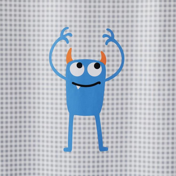 Picture of Monsters Fabric Shower Curtain