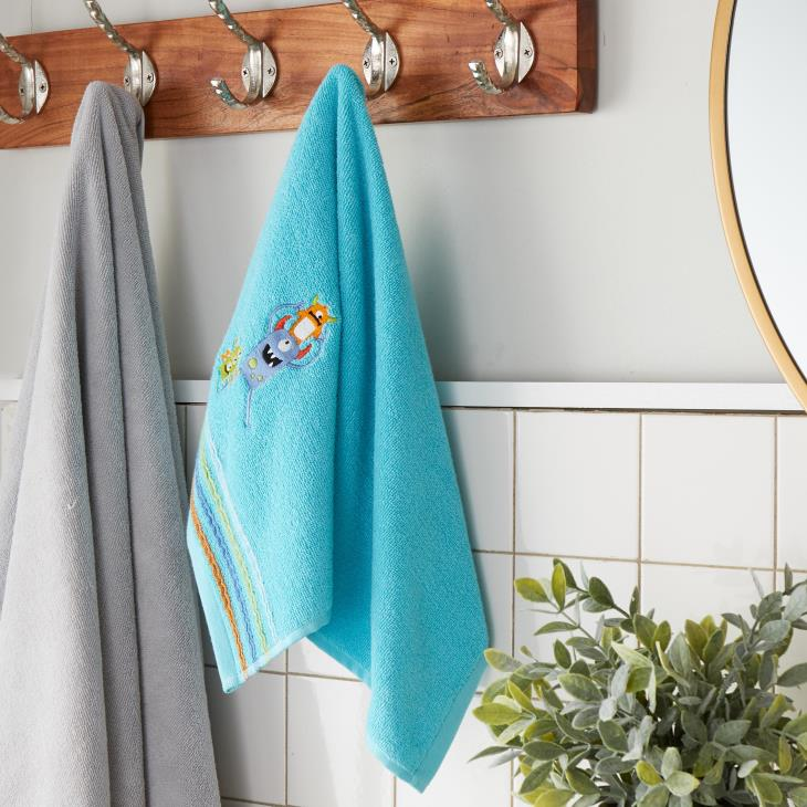 Picture of Monsters 2-Piece Hand Towel Set