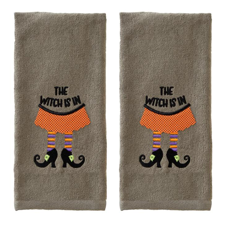 Picture of The Witch Is In Hand Towel