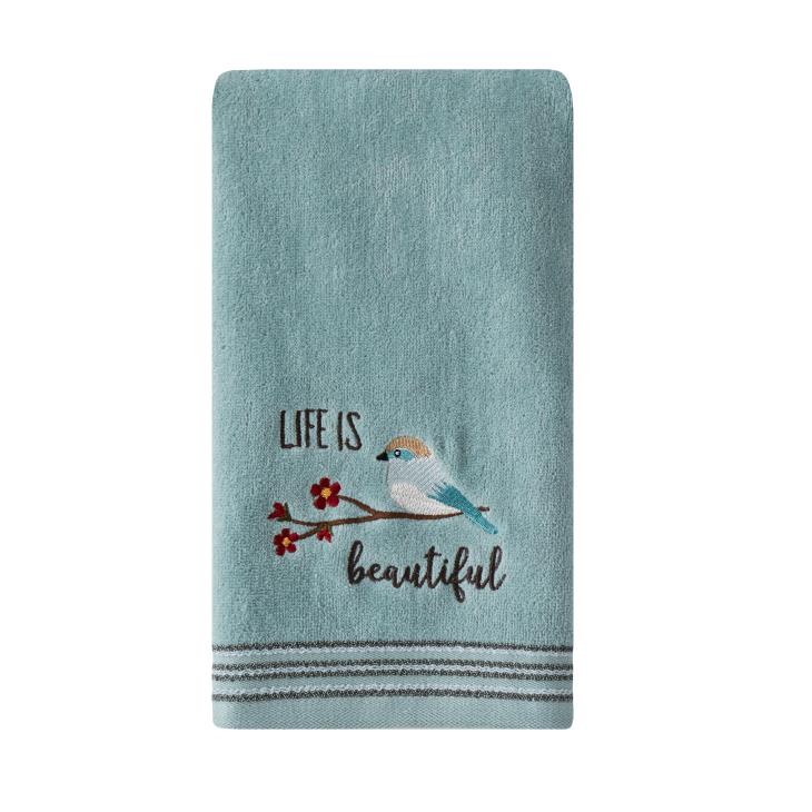 Picture of Life is Beautiful 2-Piece Hand Towel Set