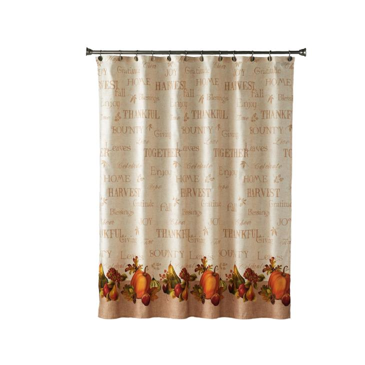 Picture of Harvest Bounty Shower Curtain