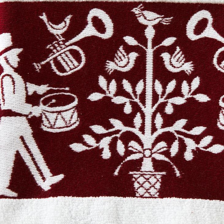 Picture of Christmas Carol Bath Towel
