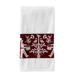 Image of Christmas Carol Bath Towel