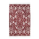 Image of Christmas Carol Printed Dish Towel