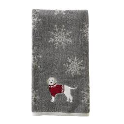 Image of Fa La La Dogs Bath Towel