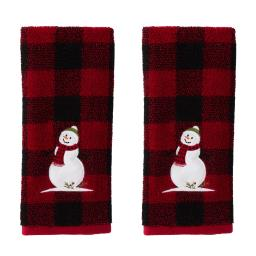 Image of Woodland Winter 2-Piece Hand Towel Set