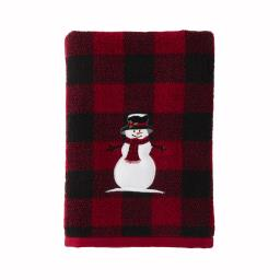 Image of Woodland Winter Bath Towel