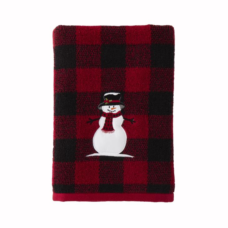 Picture of Woodland Winter Bath Towel