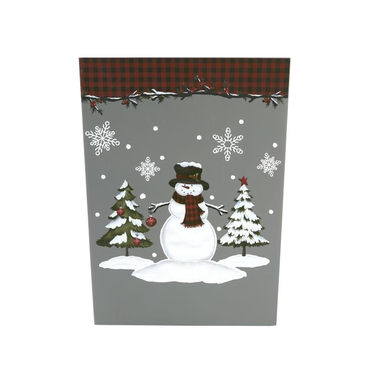 Picture of Woodland Winter Wastebasket