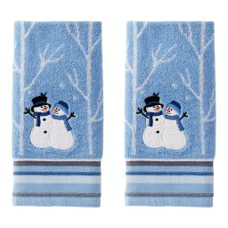 Image of Winter Friends 2-Piece Hand Towel Set
