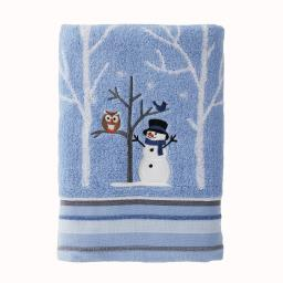 Image of Winter Friends Bath Towel