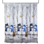 Image of Winter Friends Shower Curtain