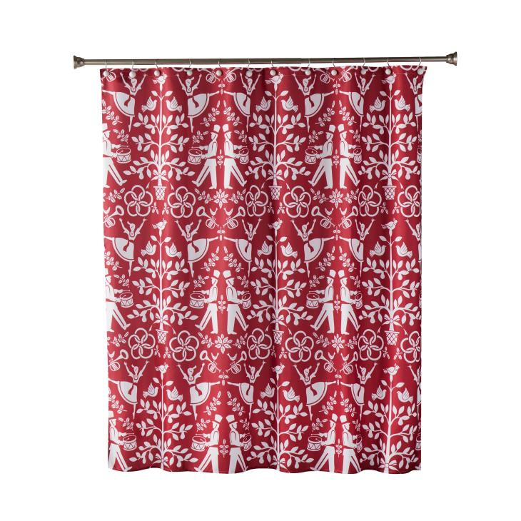 Picture of Christmas Carol Shower Curtain