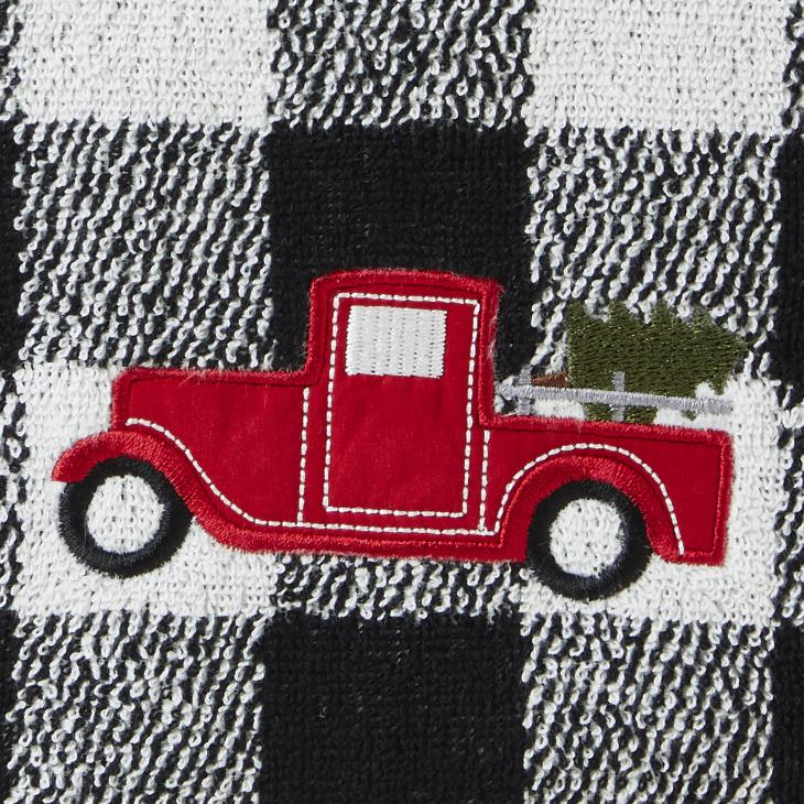 Picture of Stag/Truck 2-Piece Hand Towel Set