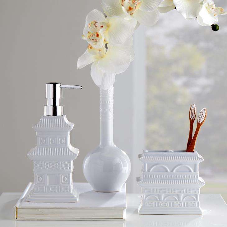 Picture of Chinoiserie Toothbrush Holder