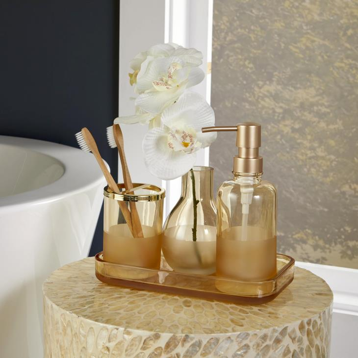 Picture of Ombre Toothbrush Holder in Bronze