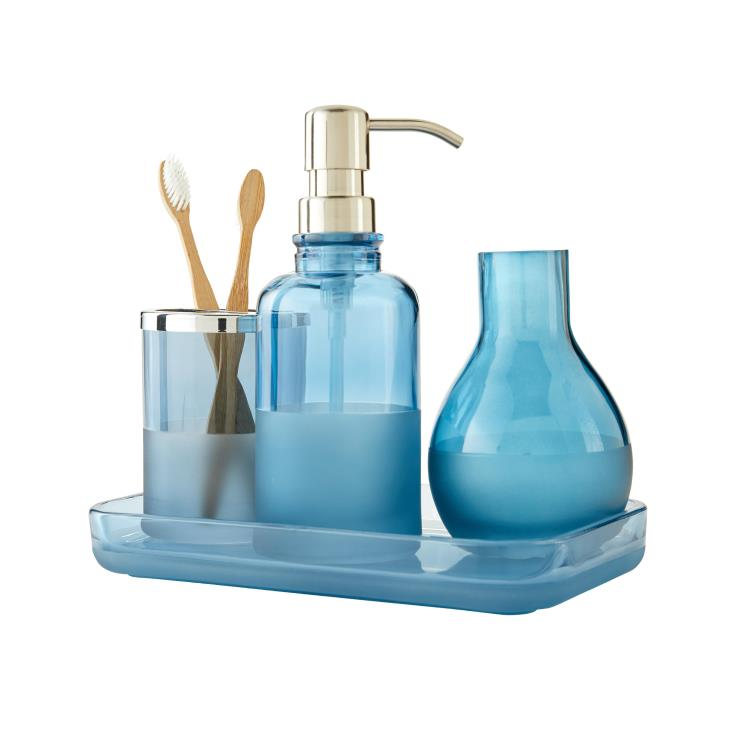Picture of Ombre Vanity Tray in Teal