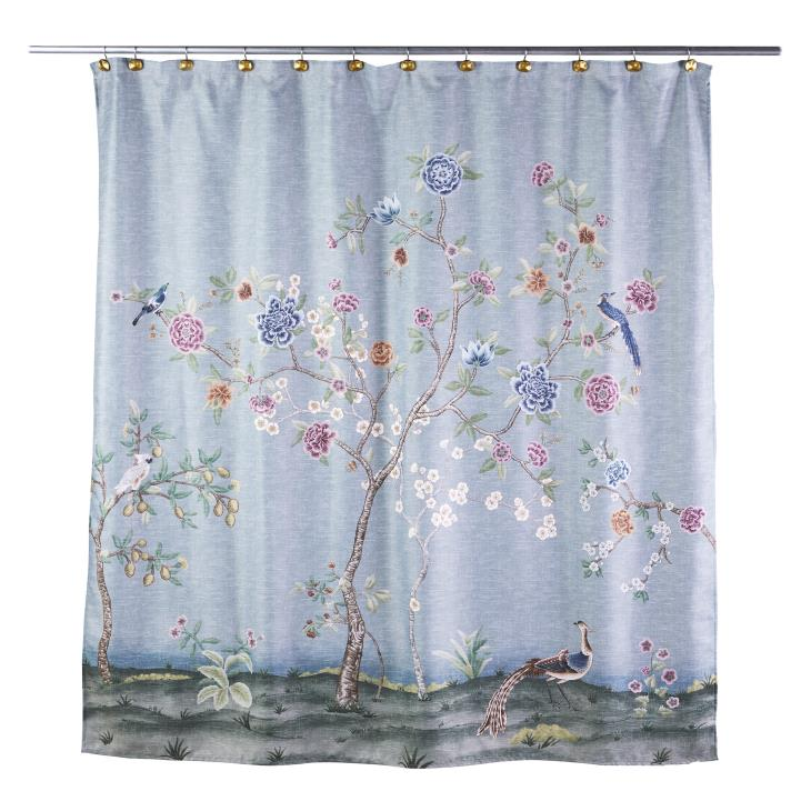 Picture of Spring Blooms Shower Curtain