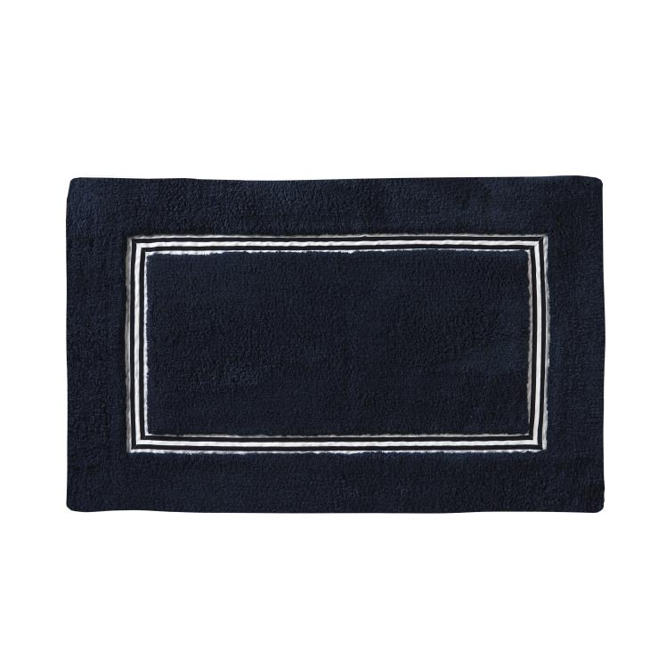 Picture of Lithgow Bath Rug in Navy