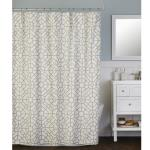 Image of Bamboo Lattice Fabric Shower Curtain