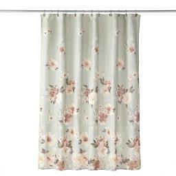 Image of Holland Floral Fabric Shower Curtain