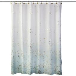 Image of Splatter Fabric Shower Curtain