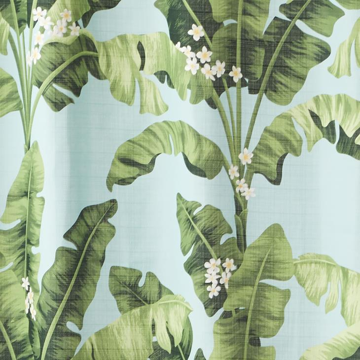 Picture of Rosemary Beach Fabric Shower Curtain