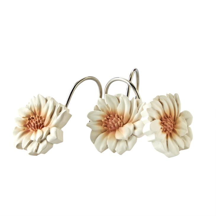 Picture of Holland Floral Shower Curtain Hooks