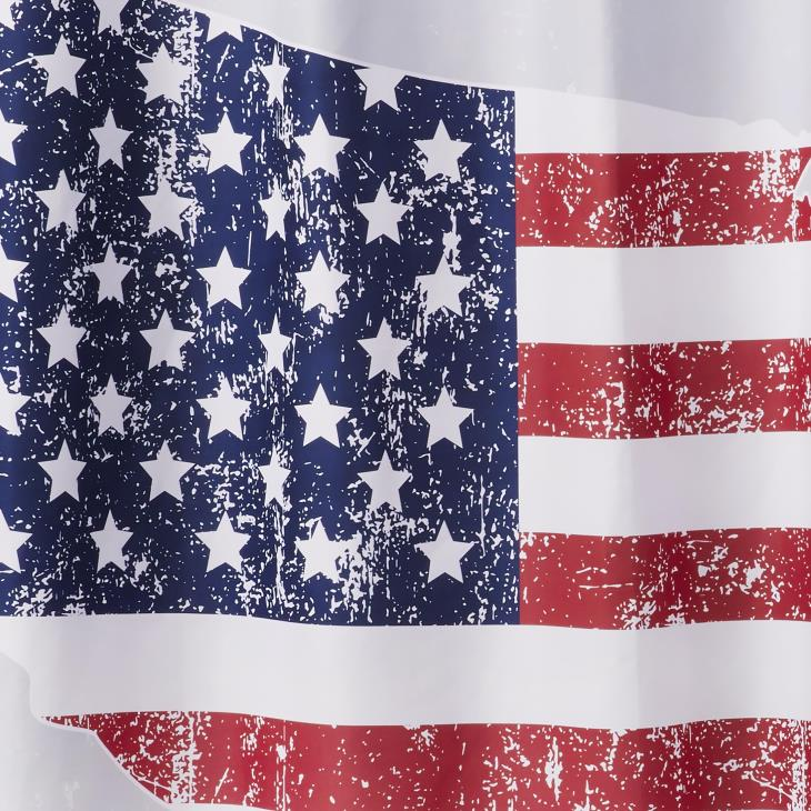 Picture of American Pride Fabric Shower Curtain