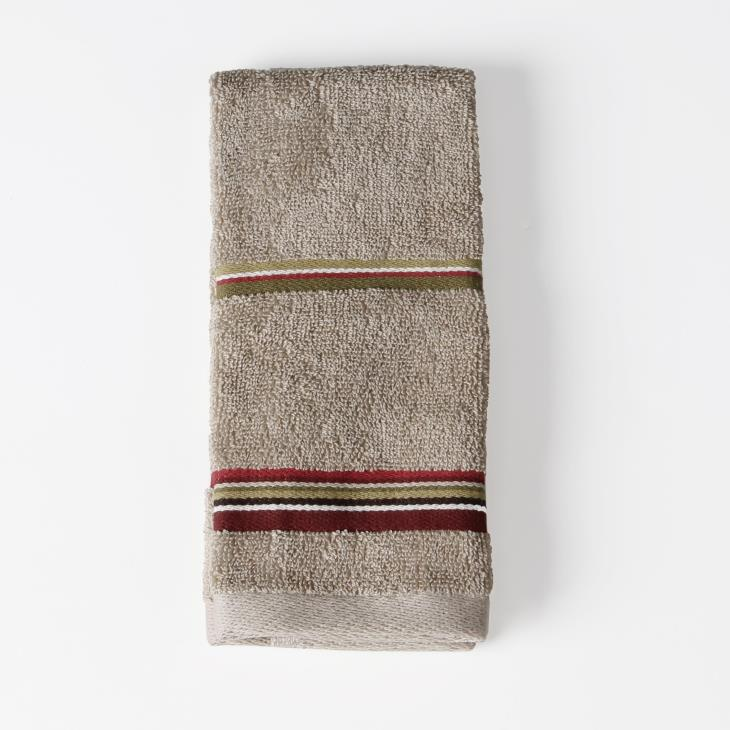 Picture of Madison Stripe Tip Towel