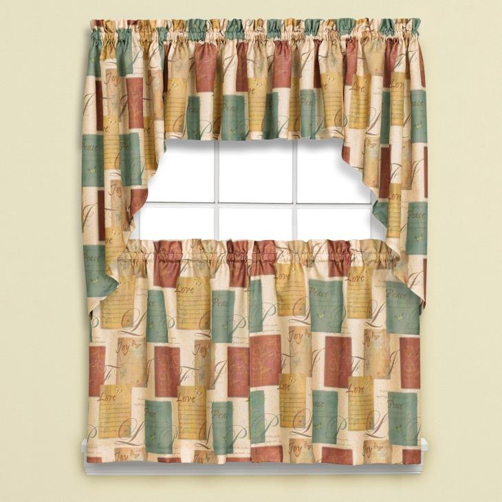 "Picture of Tranquility 13"" Window Valance"