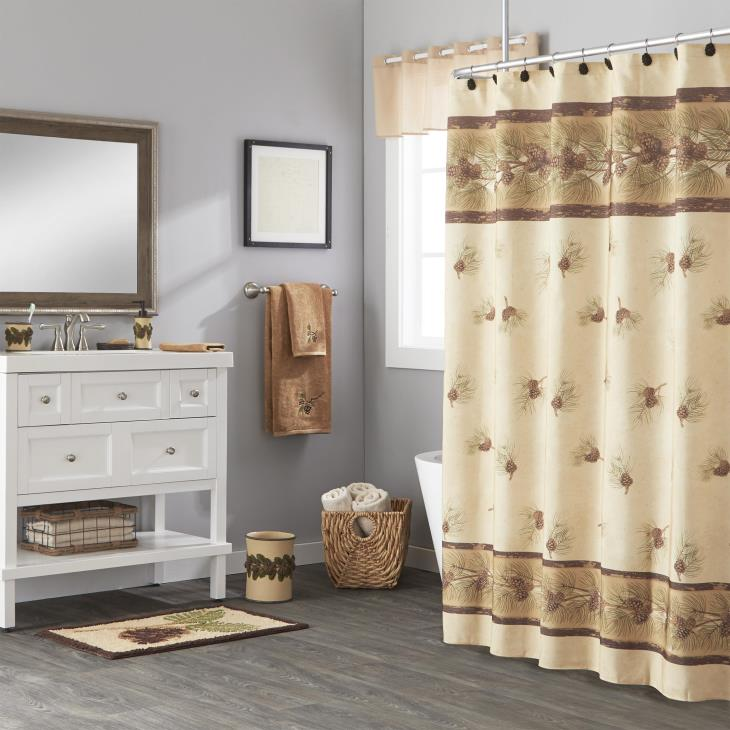 Picture of Pinehaven Shower Curtain