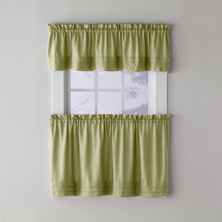 "Picture of Holden 13"" Window Valance in Sage"