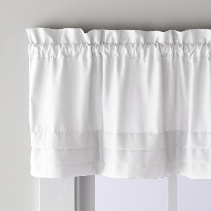 "Picture of Holden 13"" Window Valance in White"