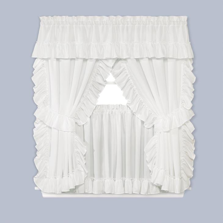 "Picture of Sarah 10"" Window Valance"