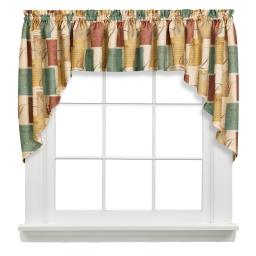 "Image of Tranquility 35"" Window Swag Pair"