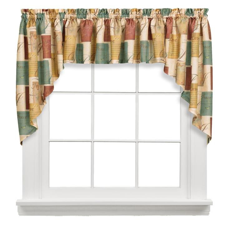 "Picture of Tranquility 35"" Window Swag Pair"