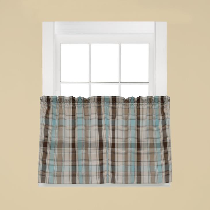 "Picture of Cooper 36"" Window Tier Pair in Blue"