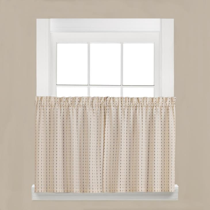 "Picture of Hopscotch 36"" Window Tier Pair in Neutral"