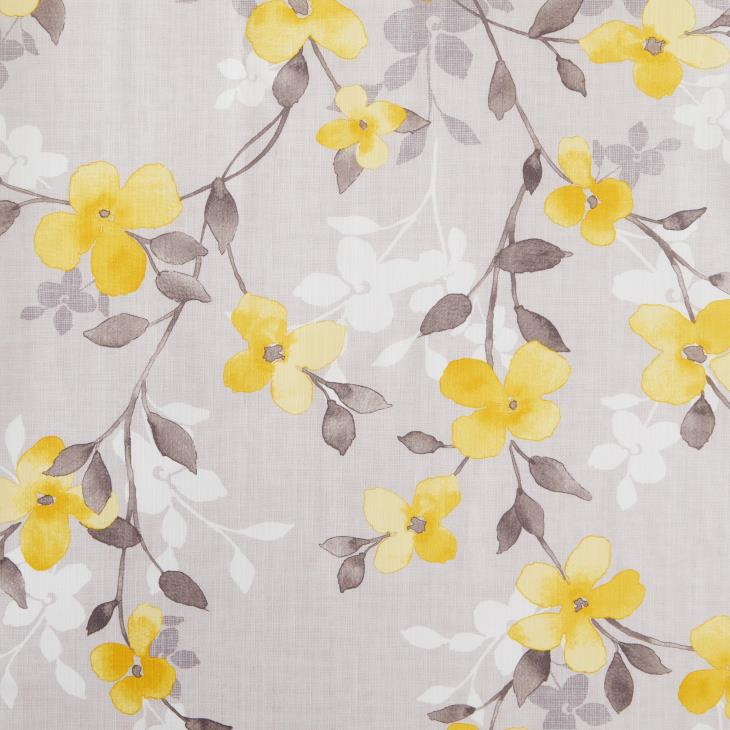 Picture of Spring Garden Floral Fabric Shower Curtain