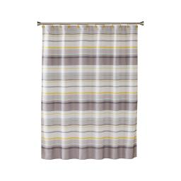 Image of Spring Garden Stripe Shower Curtain